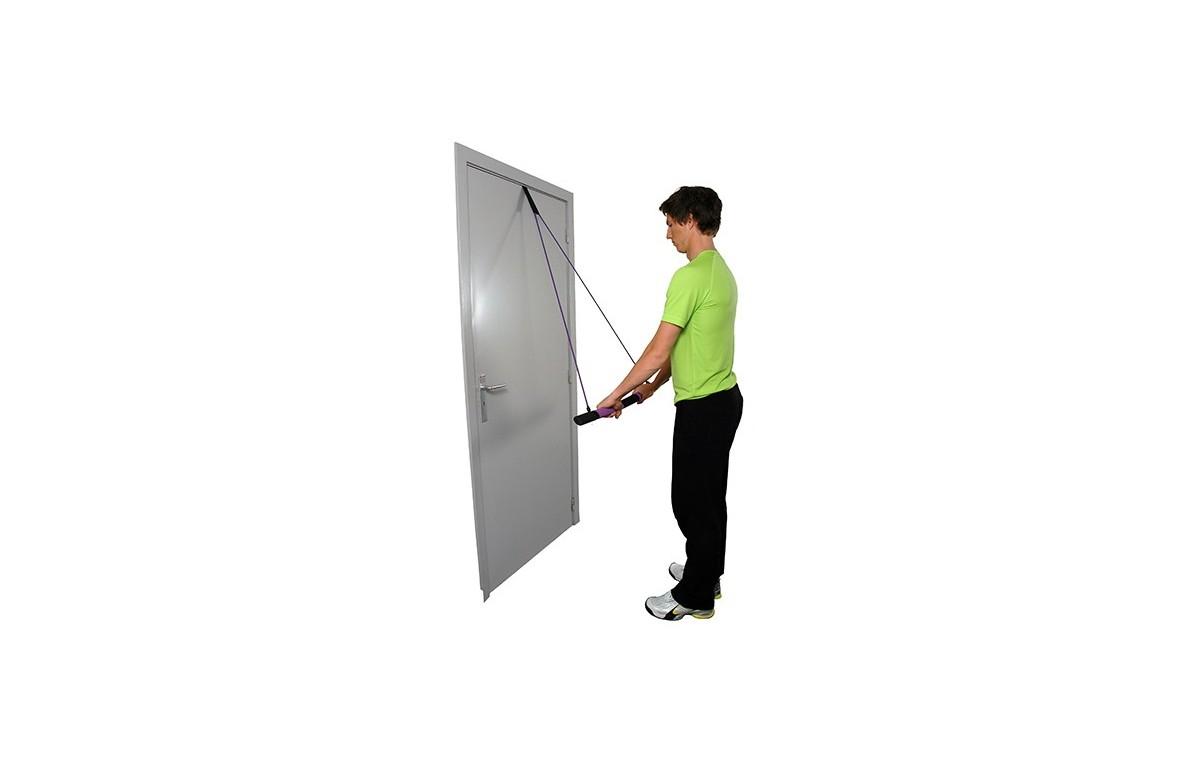 Trener mięśni z tubingiem i uchwytem do drzwi Versa Flex Bar MSD - 05-080199