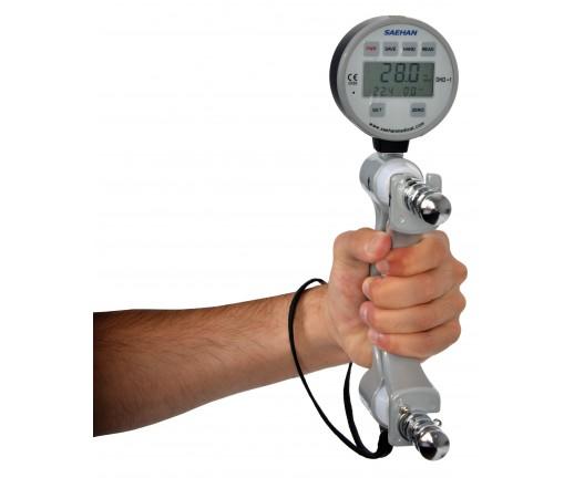 Cyfrowy dynamometr (siłomierz) do pomiaru siły rąk - 08-010201