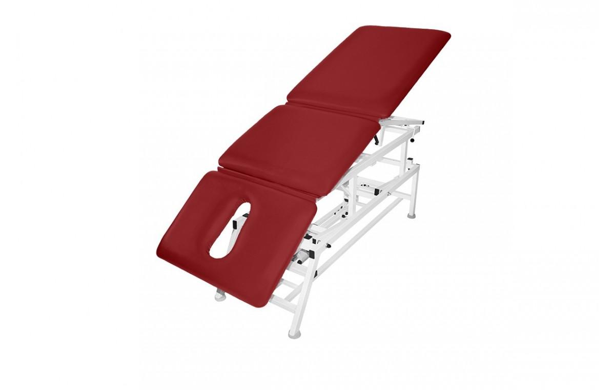 Stół rehabilitacyjny 3-cz. elektryczny z funkcją fotela i Pivot ręczny MASTER 3E-FP