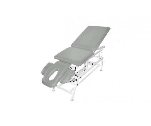 Stół rehabilitacyjny 5-cz. elektryczny MASTER 5E-FP Plus z funkcją Pivot i fotela