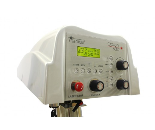 System skanujący Opton 8000S (moc 4W, 1064 nm)