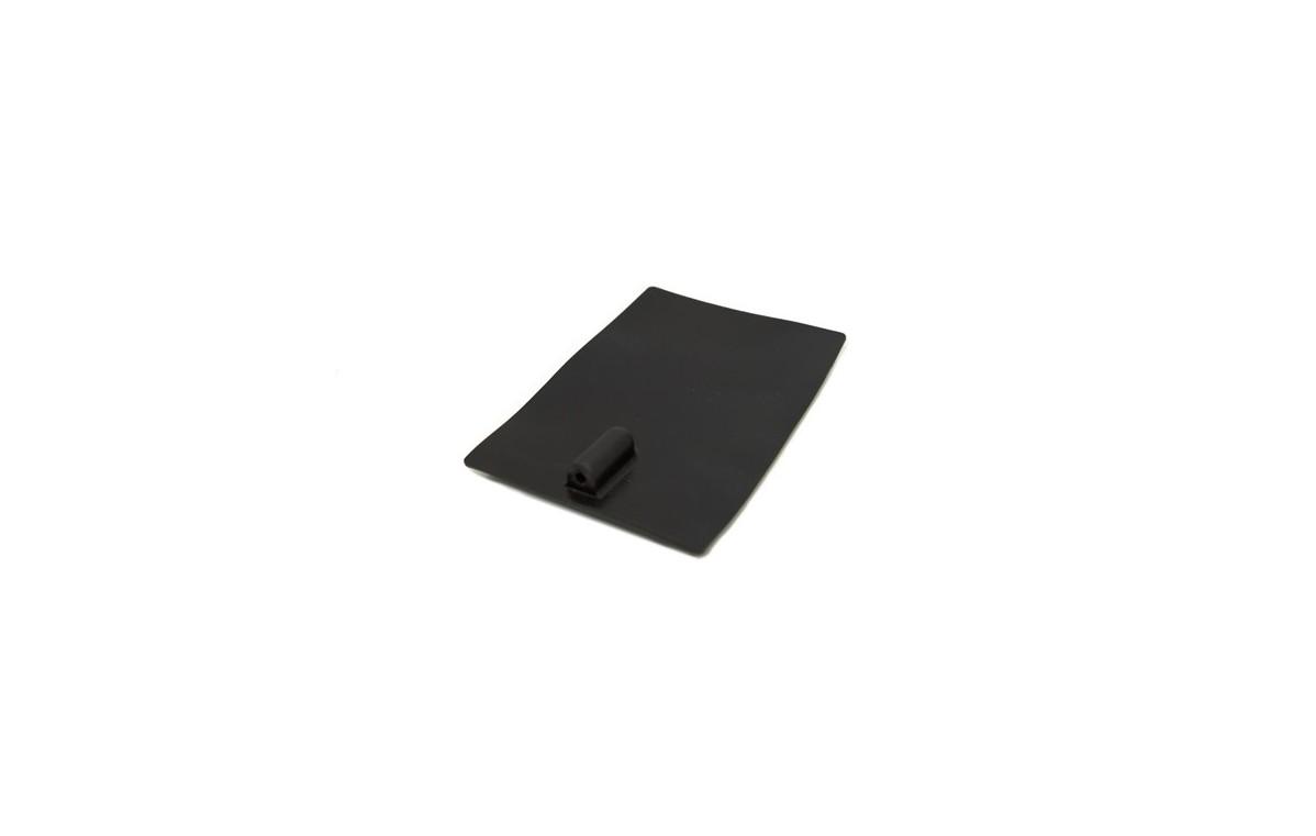 Elektroda silikonowa 60x60 mm z podwójnym przyłączem 2 i 4 mm