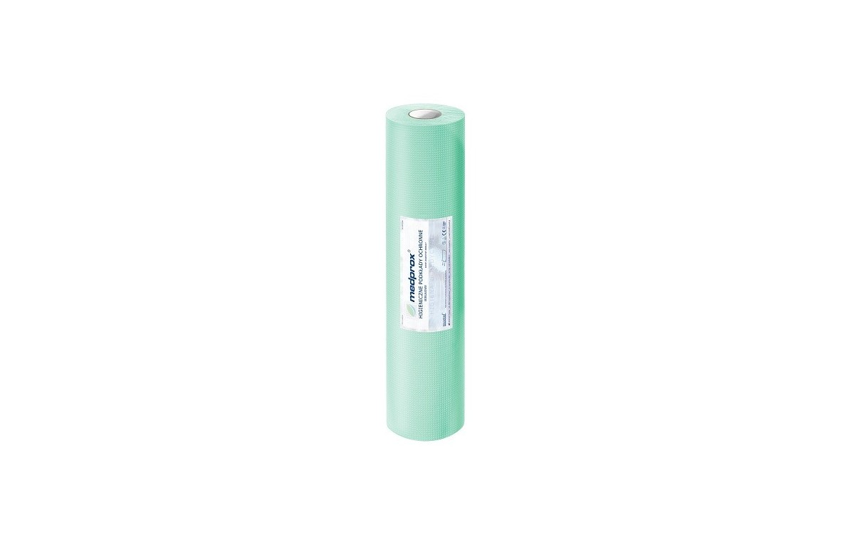 Podkład ochronny Medprox eco 50cm x 50mb (zielony)