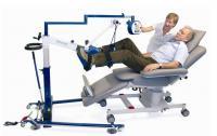 MOTOmed letto 2 urządzenie do terapii ruchowej dla pacjentów leżących podczas zabiegu hemodializy