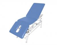 Stół rehabilitacyjny 3-cz. elektryczny z funkcją fotela i Pivot elektryczny MASTER 3E-FP Plus