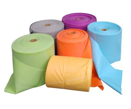Taśma rehabilitacyjna MoVes FIT Band 5,5 m (pastelowe kolory)