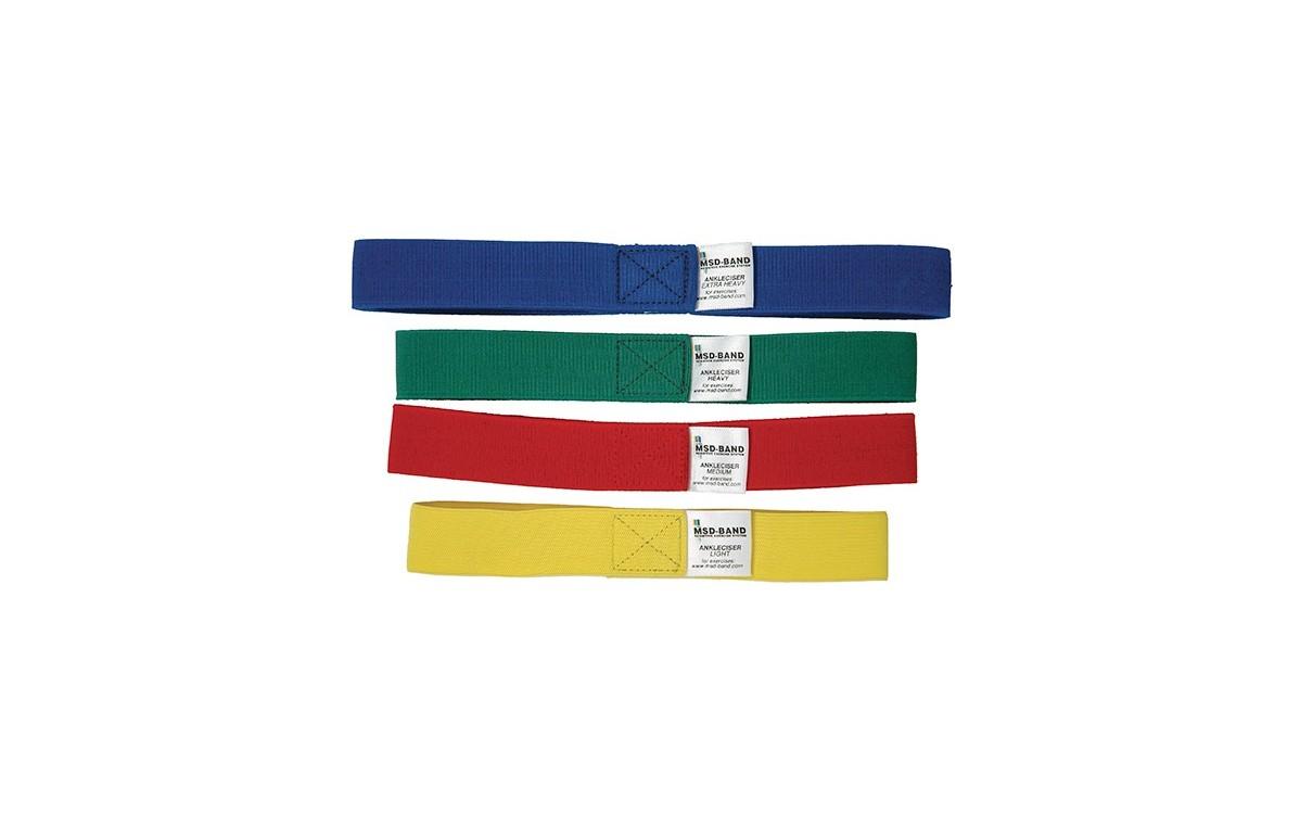 Zestaw taśm do rehabilitacji kostek MoVes Ankleciser, wszystkie kolory (4 szt.) 01-500111