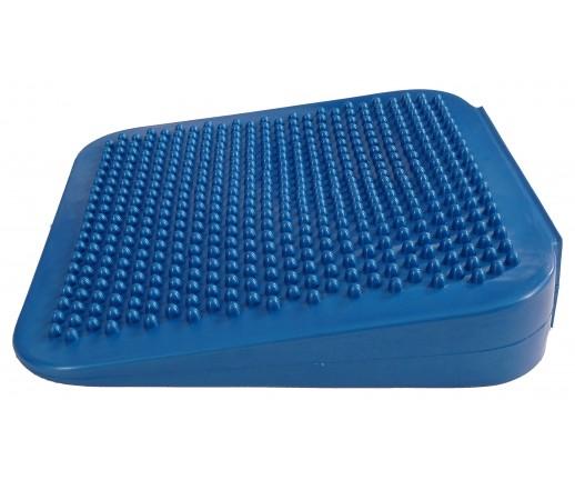 Poduszka sensomotoryczna kwadratowa Mambo Sitting Wedge MoVes niebieska 34 cm (z pompką) 04-020201
