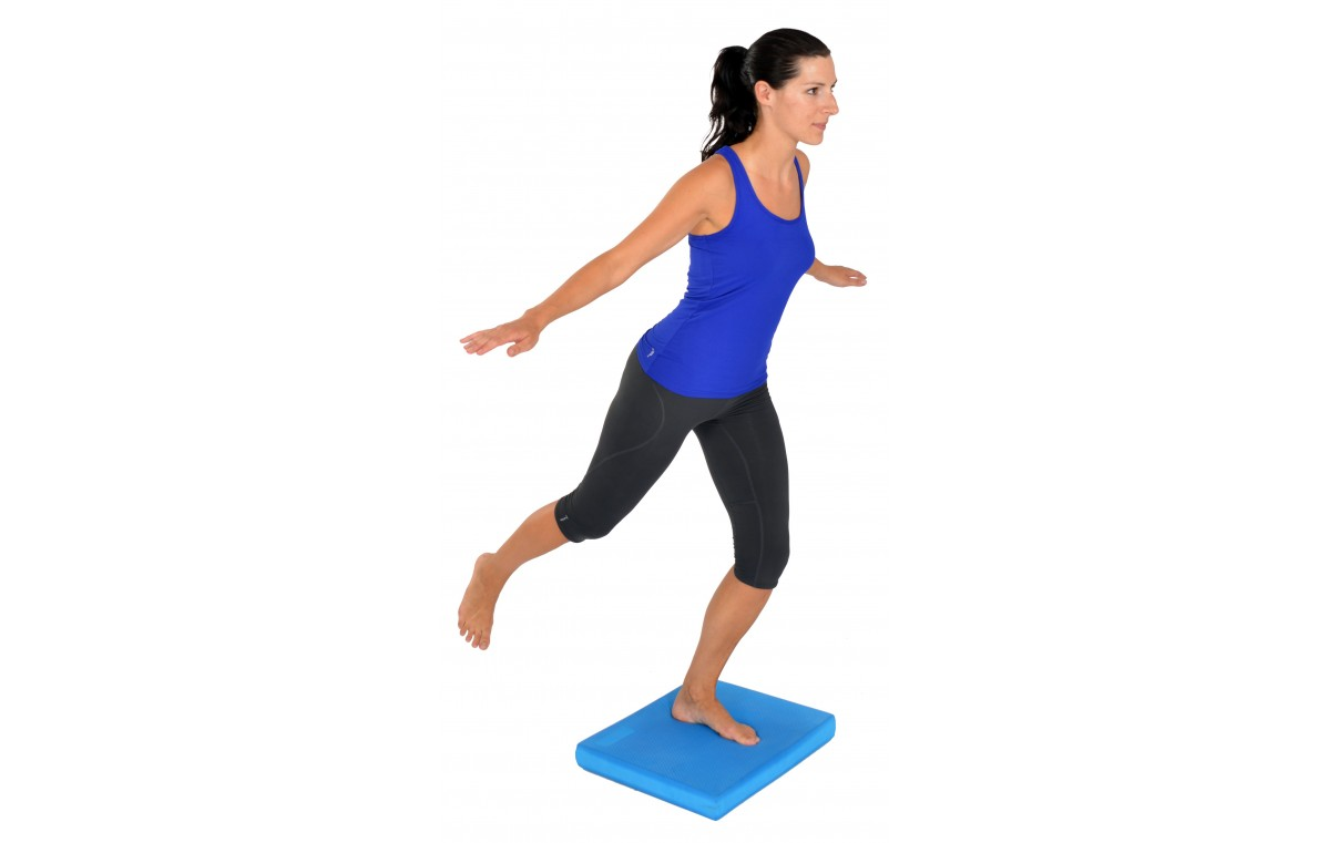 Trener równowagi (poduszka równoważna prostokąta) Mambo Balance Pad MSD 47 x 39 x 6 cm 05-040301