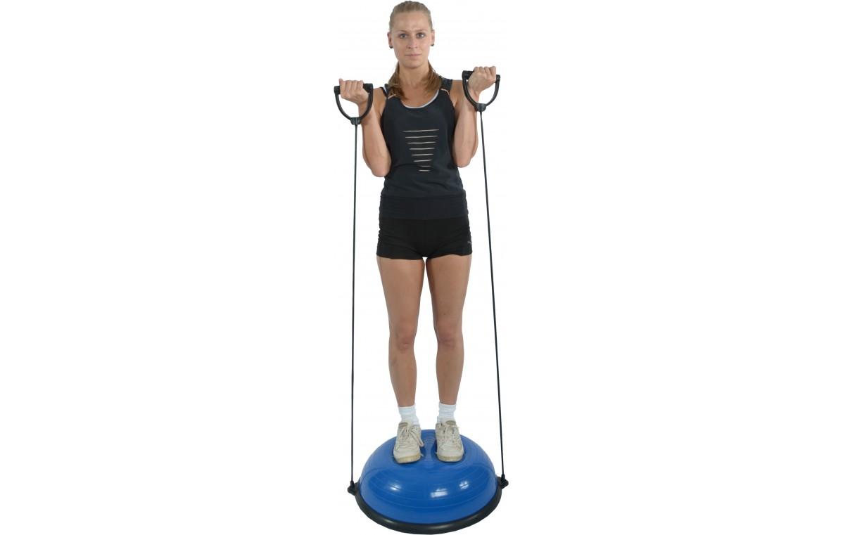Trener równowagi z tubingiem i uchwytami Mambo Dynadome MSD 59 x 21 cm (z pompką) 05-040401