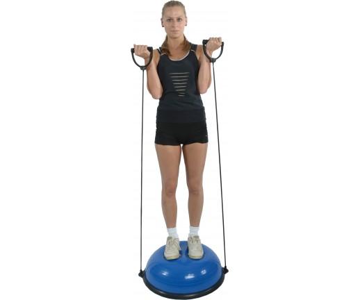 Trener równowagi z tubingiem i uchwytami Mambo Dynadome MoVes 59 x 21 cm (z pompką) 05-040401