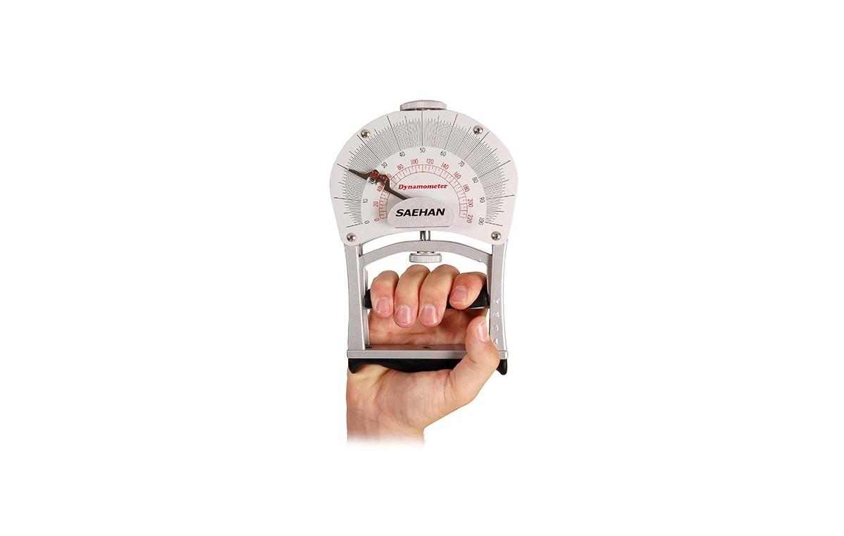 Sprężynowy dynamometr do pomiaru siły rąk - 08-010401
