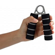 Przyrząd (ściskacz - zestaw 2 sztuki) do treningu dłoni - bez regulacji MoVes Mambo Max Foam Hand Grip - 02-080101