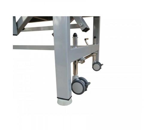 System jezdny do stołów - cztery skrętne koła