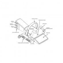Urządzenie do trakcji odcinka szyjnego kręgosłupa Saunders Cervical Traction