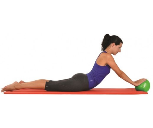Piłka do ćwiczeń (pilatesu) Mambo Pilates Soft-Over-Ball MSD