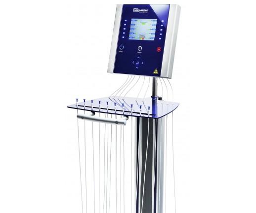 LaserNeedle - światłowodowy laser dla Ortopedii i Sportu - wersja na stoliku - 5 kanałów R + 5 kanałów IR