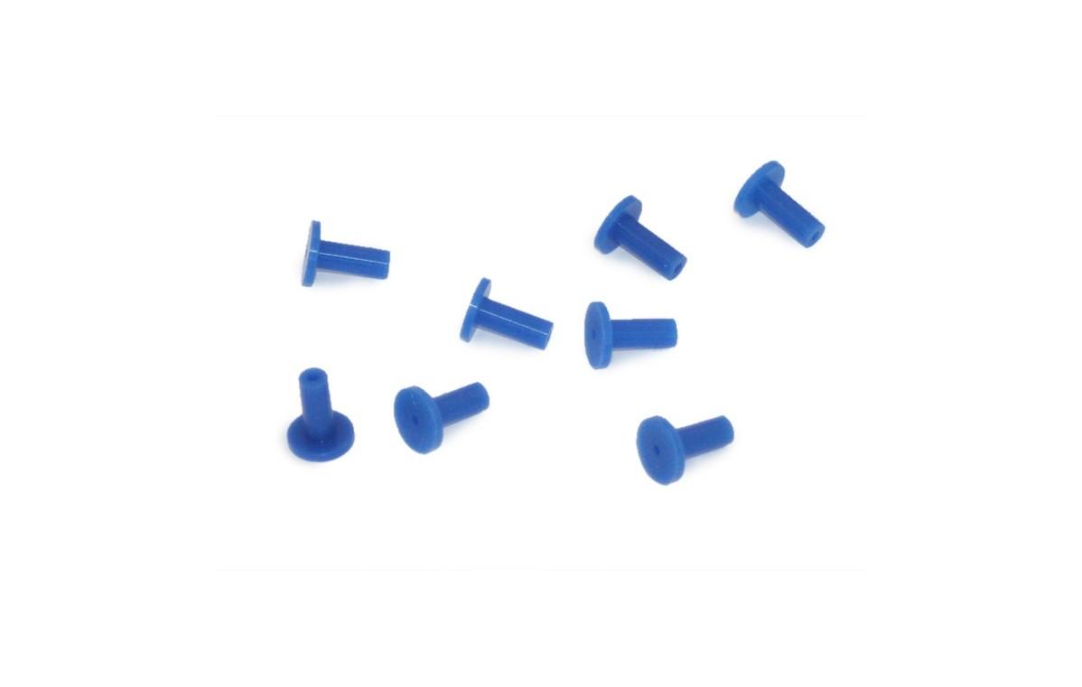 Aplikatory silikonowe wielokrotnego użytku (zestaw 10 sztuk) - 40410