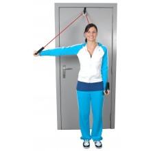 Przelotka do ćwiczeń mięśni i ramion z tubingiem MoVes Shoulder Tube Pulley (różne kolory)