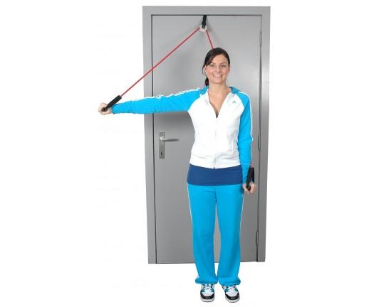 Przelotka do ćwiczeń mięśni i ramion z tubingiem MSD Shoulder Tube Pulley