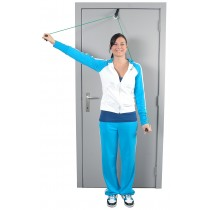 Przelotka do ćwiczeń mięśni i ramion z linką i uchwytem do drzwi MSD Shoulder Rope Pulley - 01-400101