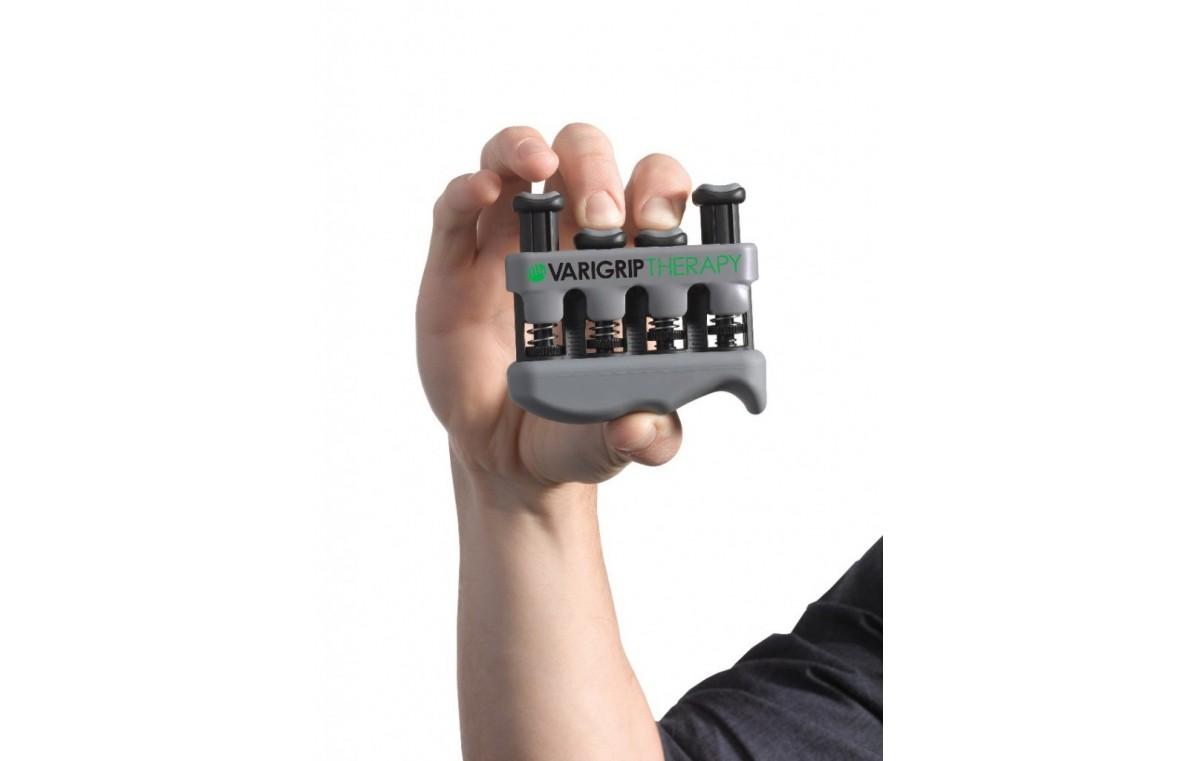 Przyrząd (ściskacz) z regulacją oporu do treningu dłoni VariGrip Therapy MoVes (różne kolory)