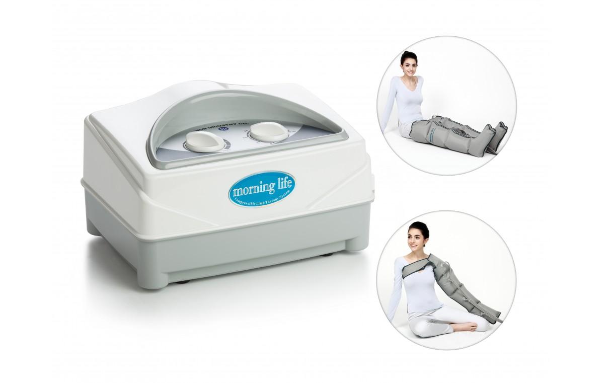 Aparat do masażu uciskowego (drenażu limfatycznego), 4-komorowy WIC 2008M