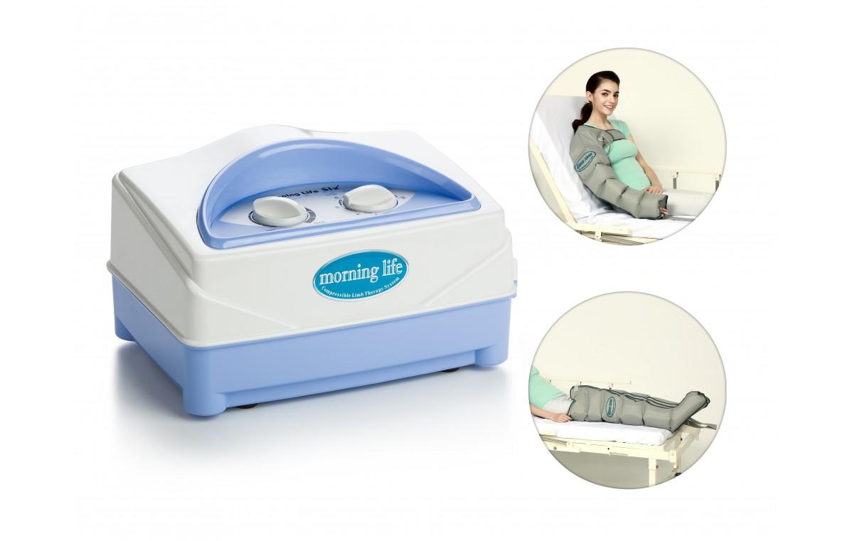 Aparat do masażu uciskowego (drenażu limfatycznego), 6-komorowy WIC 2008MS