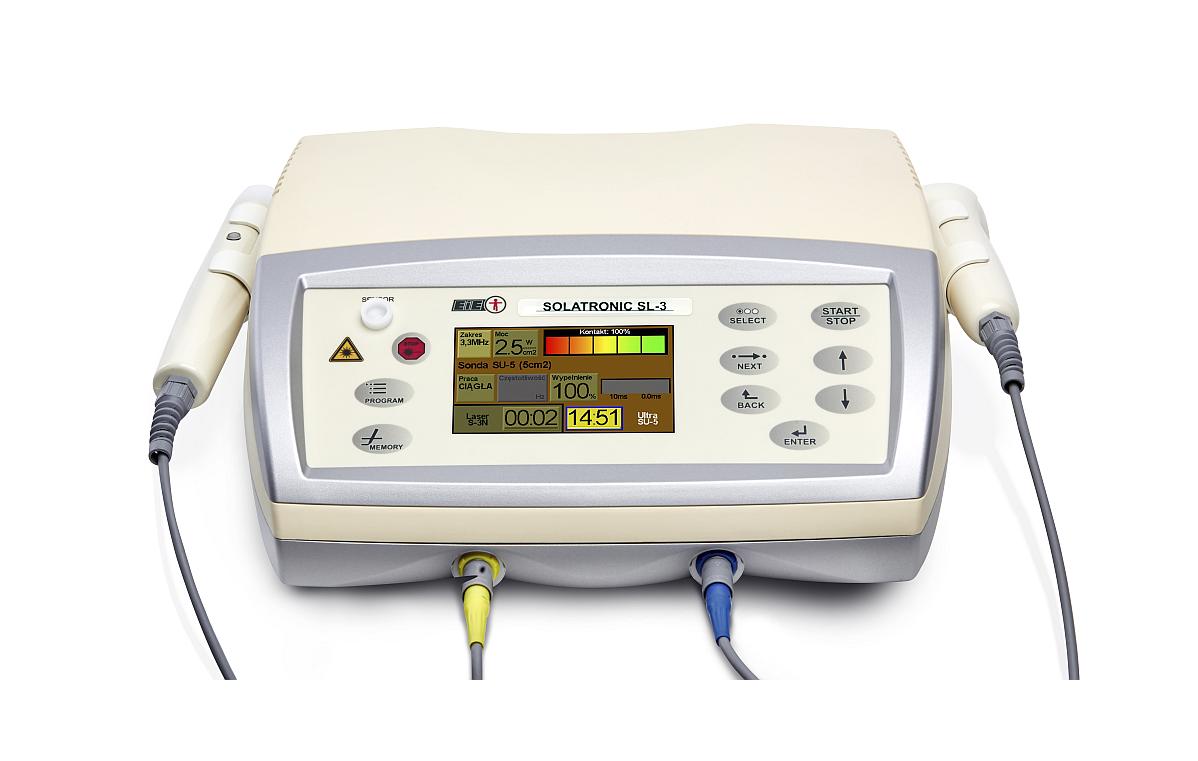 Aparat do ultradźwięków i laseroterapii Solatronic SL-3