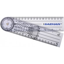 Goniometr plastikowy MoVes 20 cm 0 - 360 st. co 2 st. 08-030111