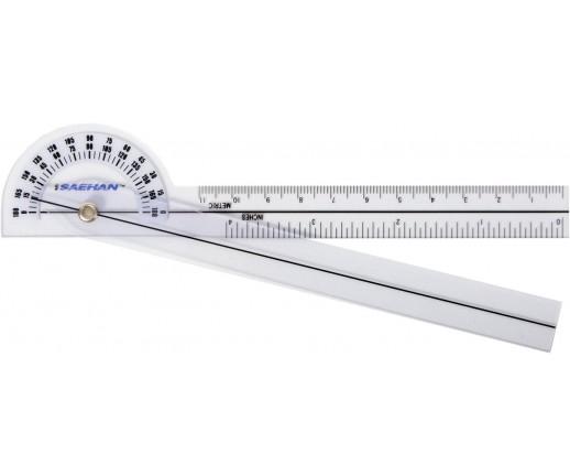Kieszonkowy goniometr plastikowy MoVes 15 cm 180 st. 08-030112