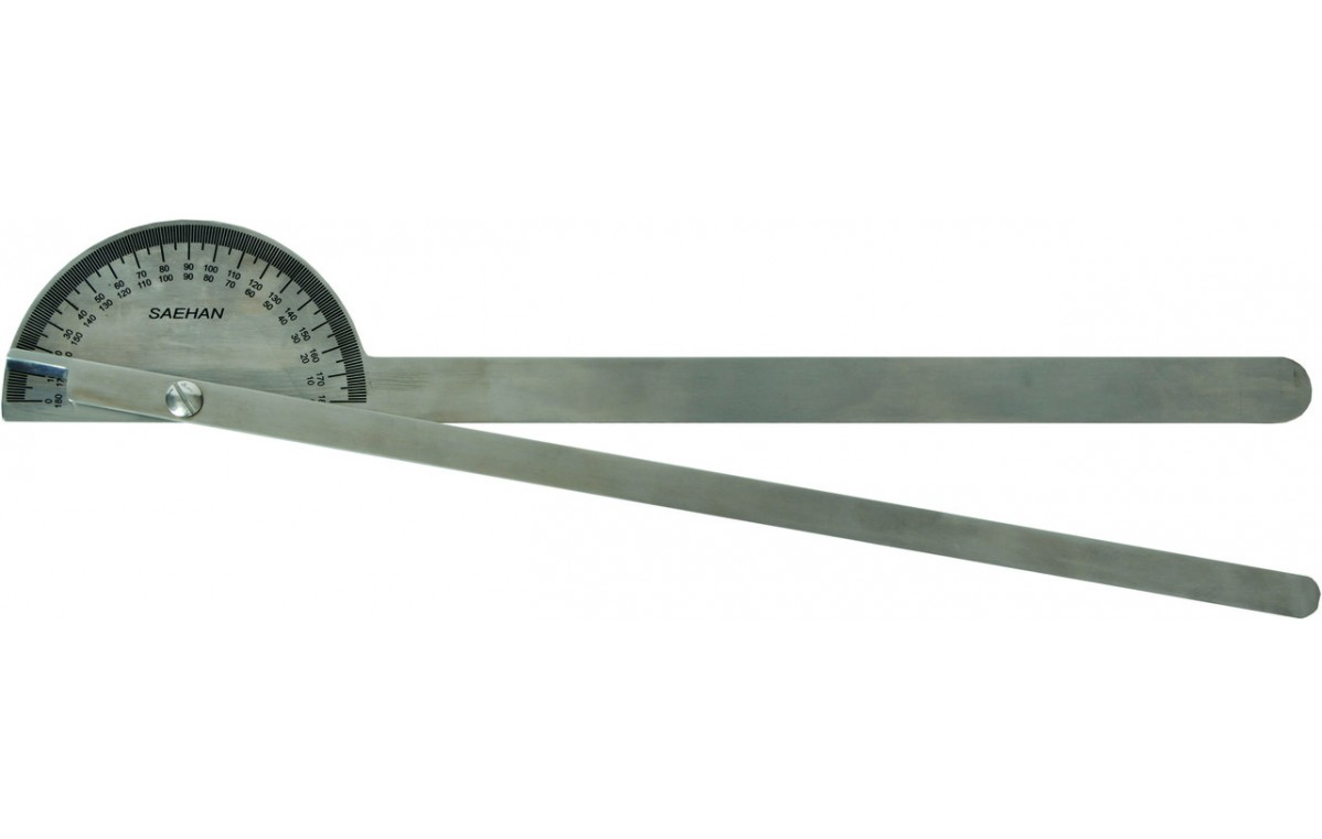 Goniometr ze stali nierdzewnej MoVes 35 cm 180 st. 08-030203