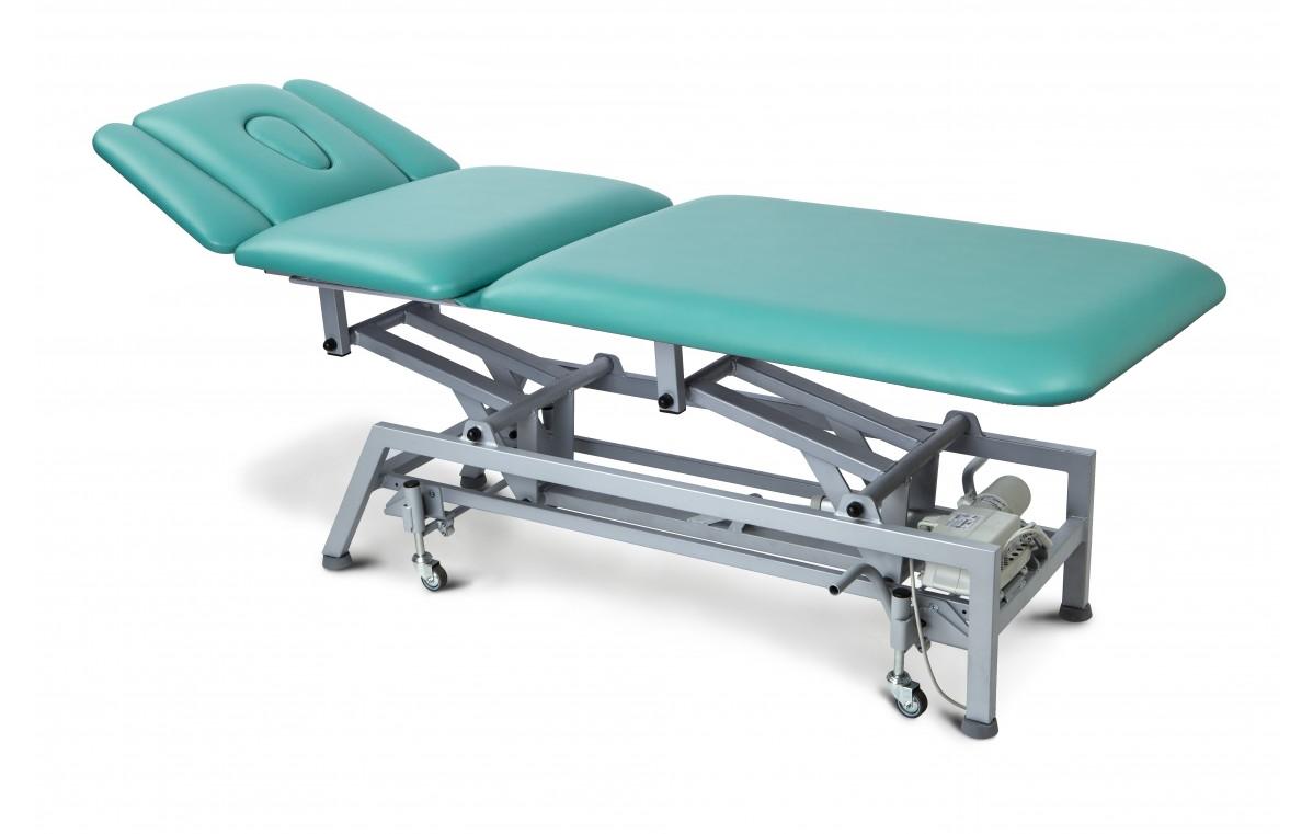 Stół rehabilitacyjny 5-cz. elektryczny MASTER 5E-P z funkcją Pivot