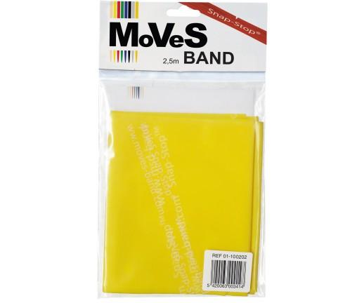 Taśma rehabilitacyjna MoVes-Band 2,5 m