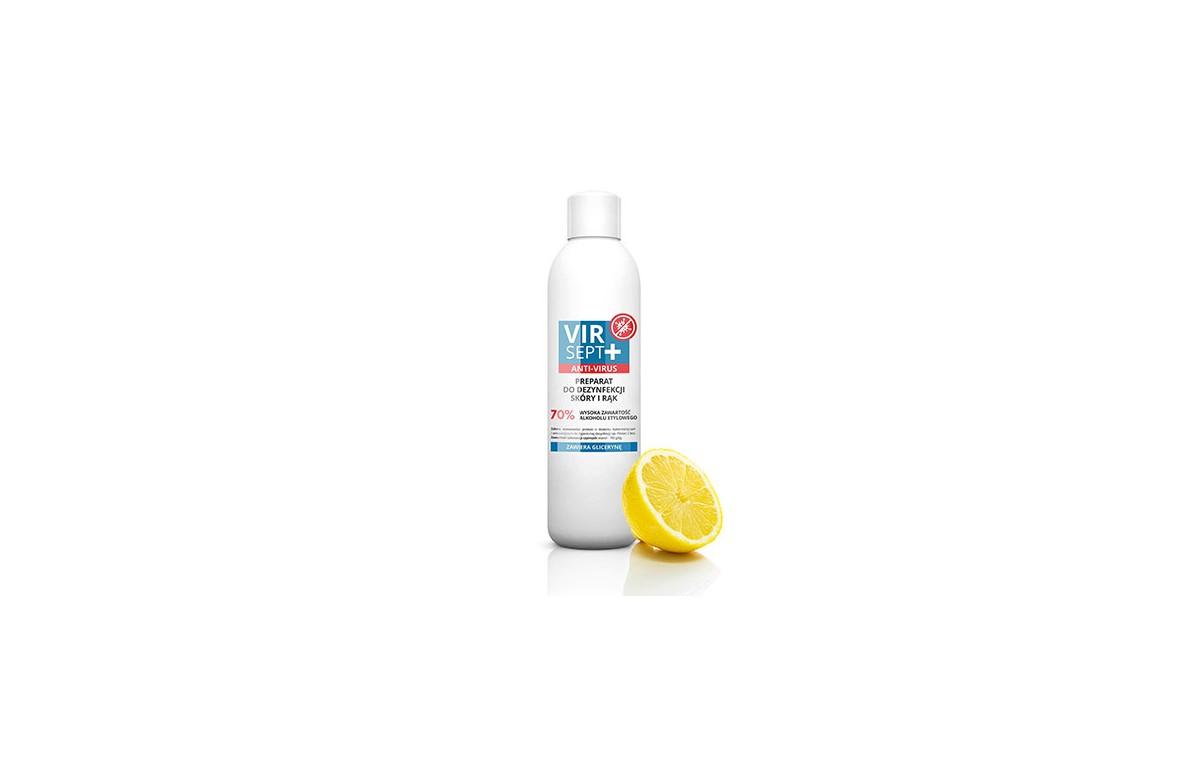 Płyn do dezynfekcji VIRSEPT o zapachu cytrusowym 1L
