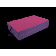 Materac dwuczęściowy 180x60x5 cm - NC140