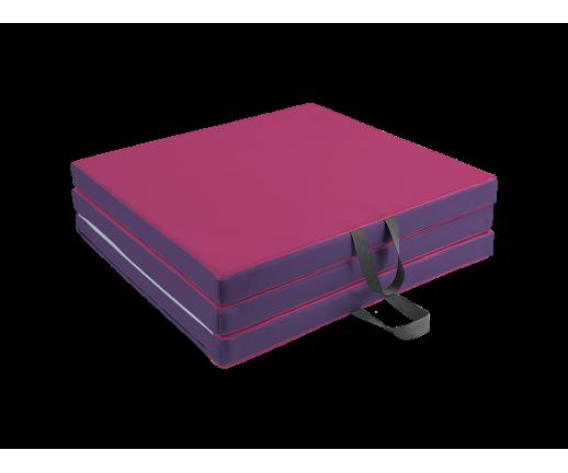 Materac trzyczęściowy 195x100x5 cm