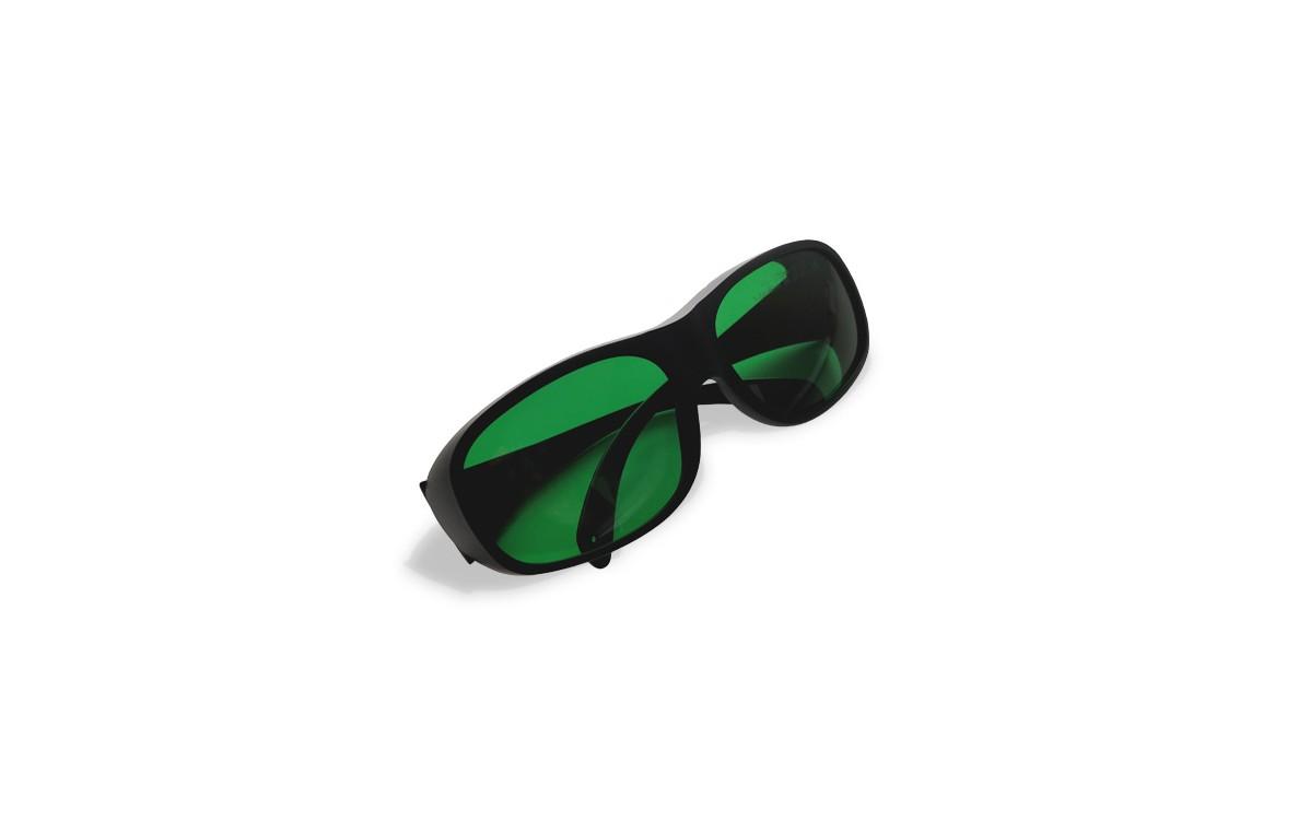 Okulary ochronne do laseroterapii wraz z etui i szmatką do szkieł