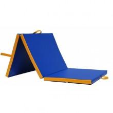 Materac do ćwiczeń i rehabilitacji, trzyczęściowy, składany (195x85x5 cm)