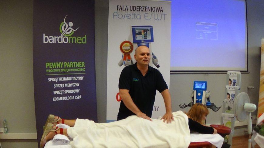 Aparat do terapii falą uderzeniową – Rosetta ESWT – prezentacja urządzenia