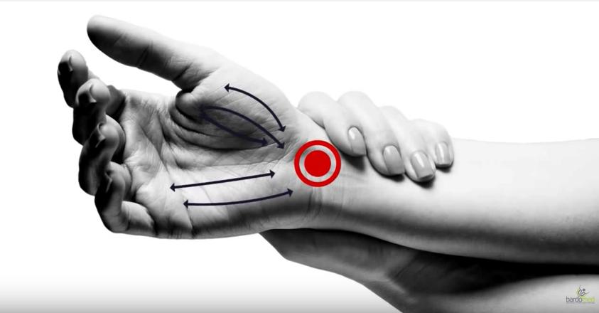 Ból nadgarstka – zabieg falą uderzeniową