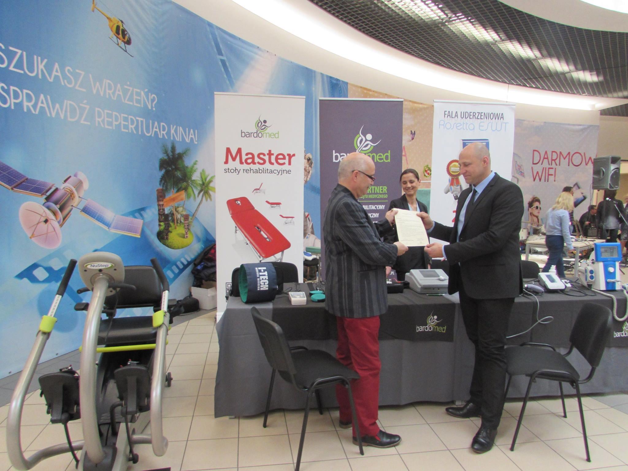 Nagroda, dyplom dla marki BardoMed - sklep rehabilitacyjny