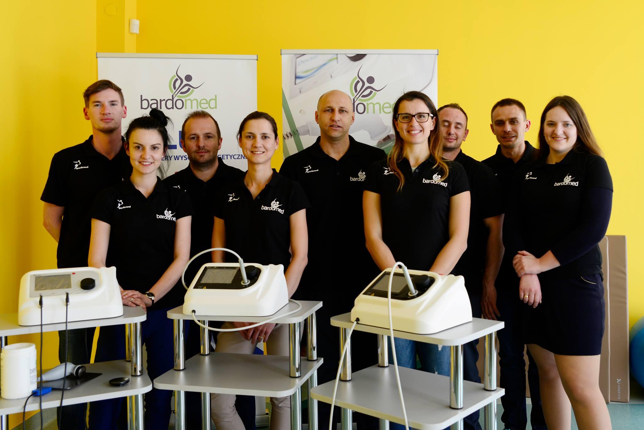 Ekipa BardoMed - sklep ze sprzętem do rehabilitacji i fitnessu