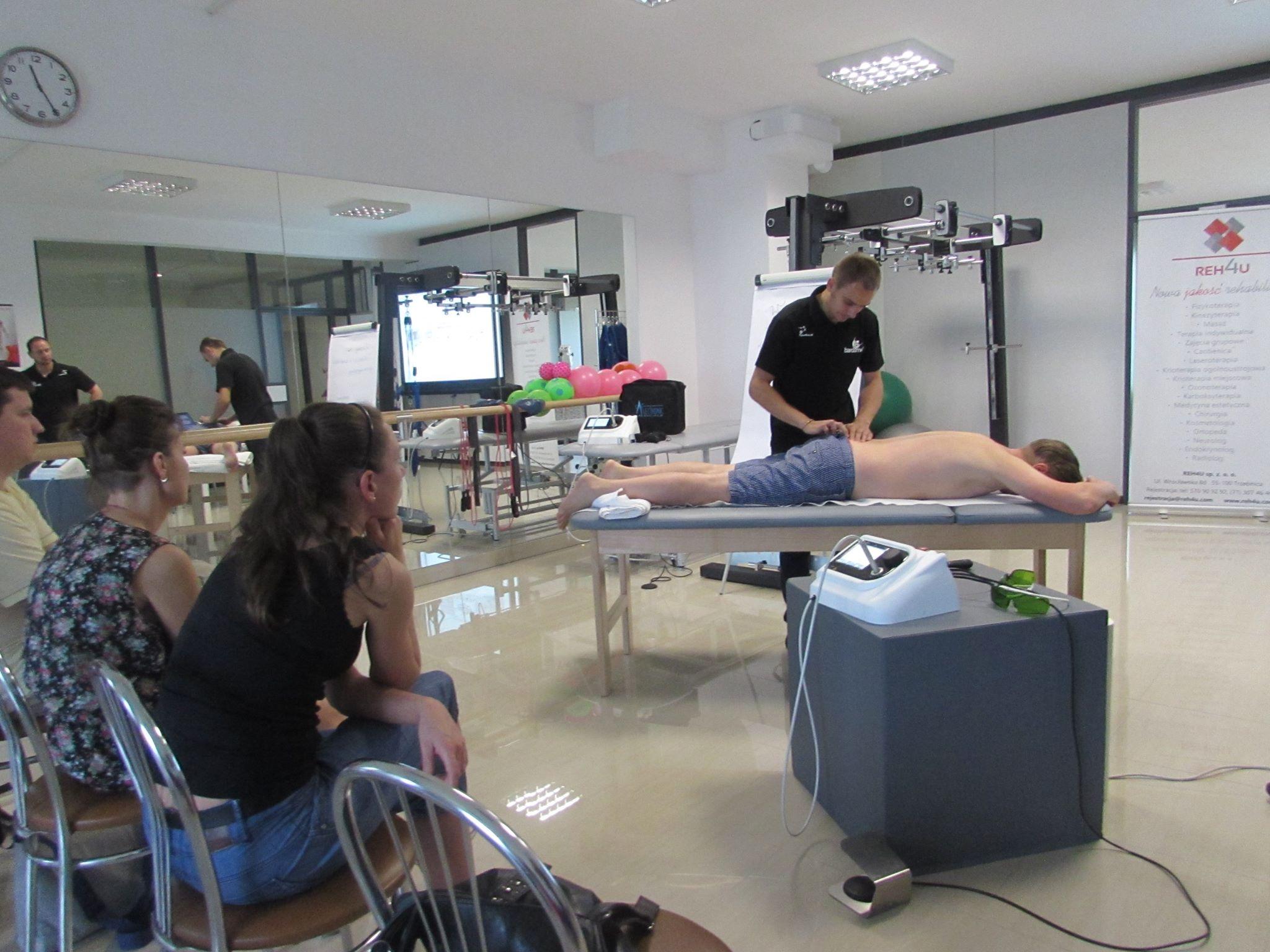 Rehabilitacja BardoMed - pokaz rehabilitacji