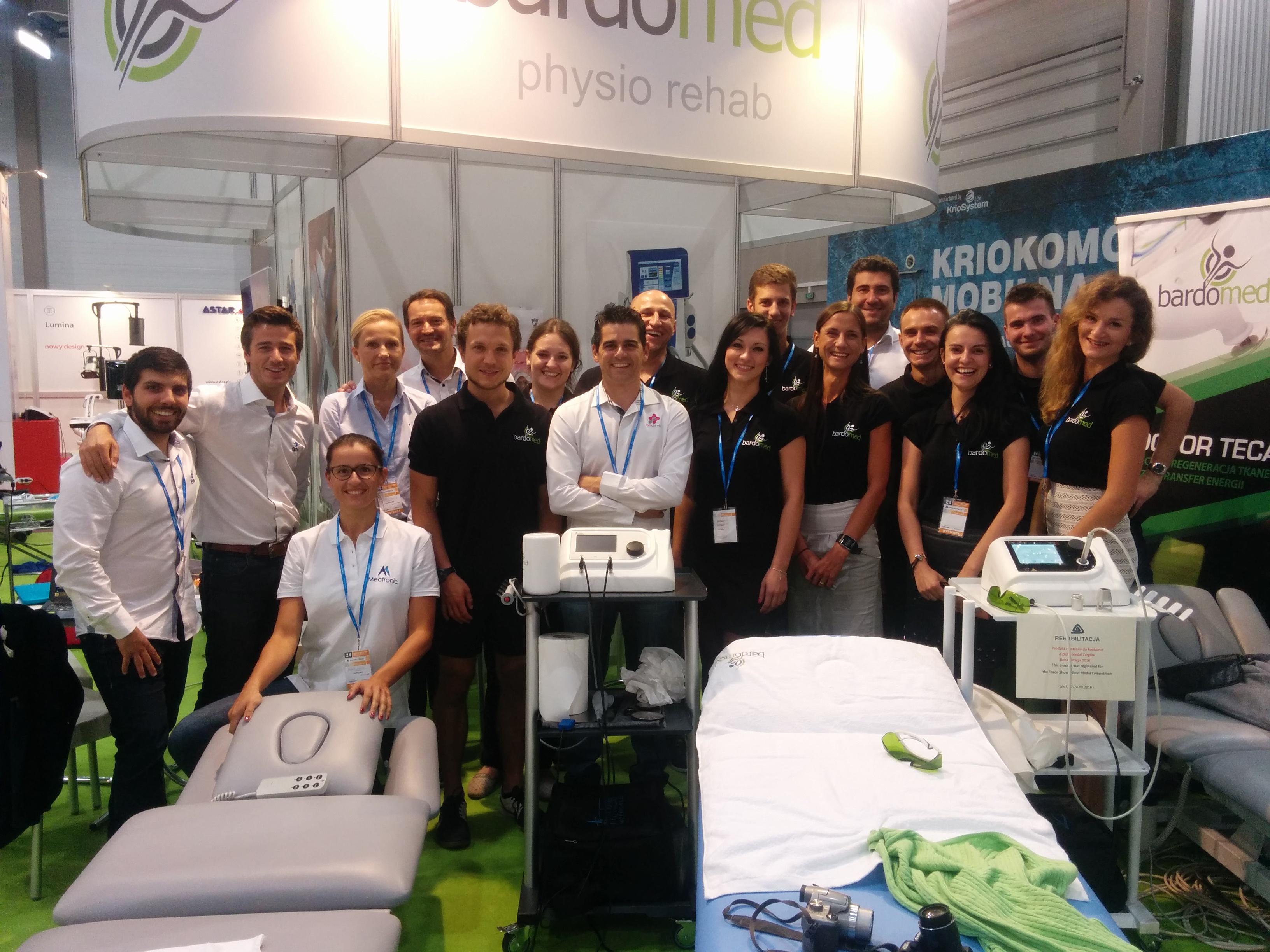 BardoMed Physio rehab - zdjęcie ekipy BardoMed z targów