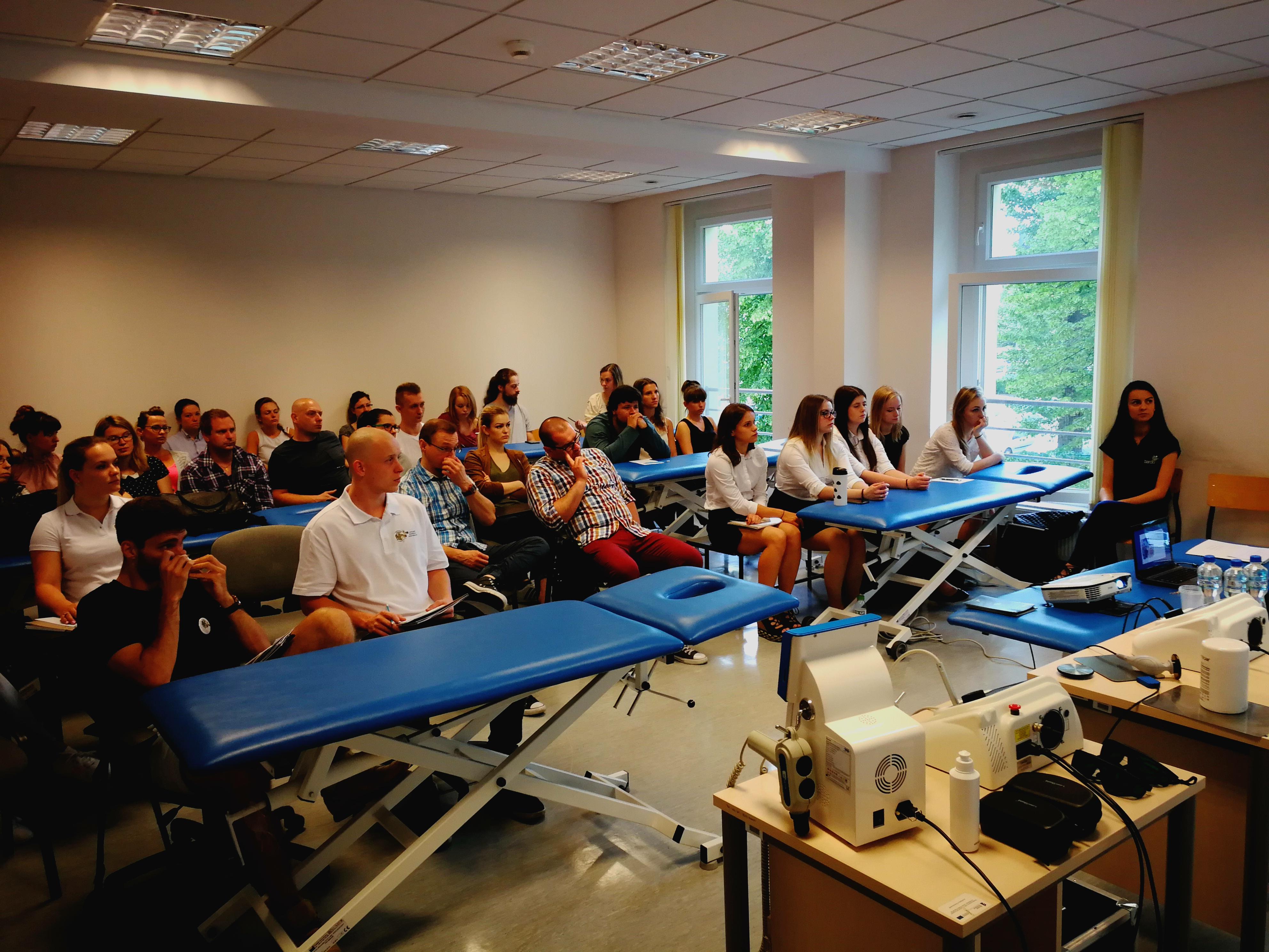 Prezentacja sprzętu rehabilitacyjnego, fizjoterepeutycznego BardoMed