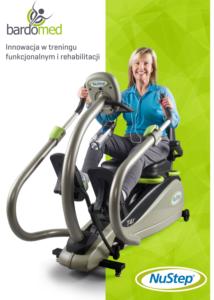 Katalog NuStep. Innowacje w treningu funkcjonalnym, rehabilitacji