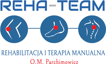 Logo Reha-Team Parchimowicz. Sklep BardoMed Kraków - rehabilitacja