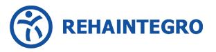 Logo Rehaintegro. Sklep BardoMed - sprzęt medyczny, fitness, rehabilitacja