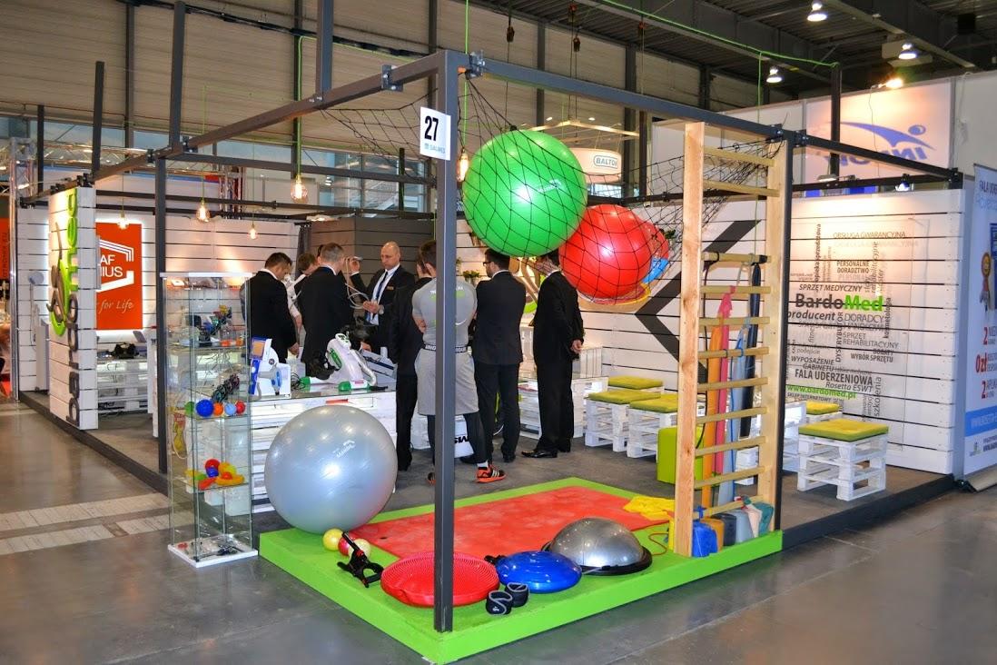 Rehabilitacja i fitness - stoisko BardoMed na targach